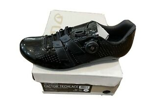 Giro Factor Techlace Cycling Shoe Size 44 Black