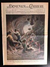 La Domenica del Corriere 10 gennaio 1932 Napoli Posta Rieti Boulanger