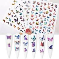 Holographic Butterfly Nail Decors Decal Sticker Nail Art Accessories Nail Design