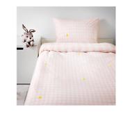 IKEA STILLSAMT DUVET COVER SINGLE LIGHT PINK 150x200/50x80 cm 1 PILLOW COVER