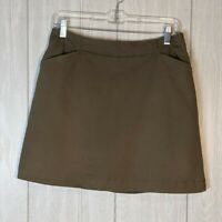 Nike Golf Dri Fit brown golf skort sz 8 Medium EUC shorts/skirt