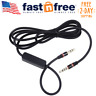 Headphone Replacement Cable Skullcandy Hesh 2 Cord Audio Mic Black 5ft 3 5mm New