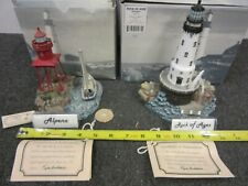 New Listing2 Harbour Lights Lighthouses: Alpena #312 and Rock of Ages #271 with Coa Lot L8