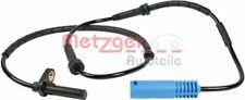 METZGER Sensor Raddrehzahl ABS Sensor ORIGINAL ERSATZTEIL Hinten 0900213