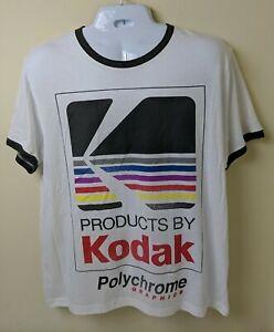 Kodak Polychrome - White T-Shirt NWOT