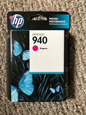 Genuine HP 940 Magenta Ink Cartridge NEW  Exp Oct 2013