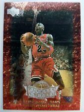 1999 99-00 UD LEGENDS PLAYER OF THE CENTURY Michael Jordan #P1, INSERT BULLS HOF