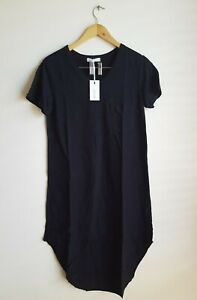 3rd Story The Label Milly Dress Tee T-Shirt Dress Size Small RRP $69 - Black