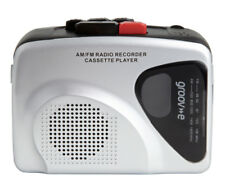 Groove Retro Personal Cassette Player and Recorder with Earphones - GVPS525SR
