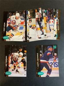 1991/92 Parkhurst French New York Islanders Team Set 18 Cards