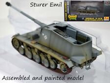 WWII German 12.8 cm Selbstfahrlafette Sturer Emil Gun Tank 1:72 Easy Model