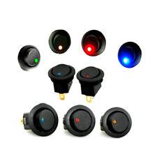 Neue 5pcs 12V Auto runde Punkt LED heller Rocker Umschalt Schalter Verkäufe