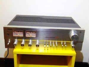 RARO GRANDE AMPLIFICATORE VINTAGE PHILIPS 384 PERFETTO