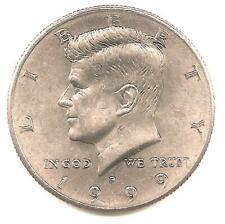 1999 P  Kennedy Half Dollar - AU