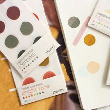 1pc Round Stickers Kawaii Stationery DIY Scrapbooking Diary Sealing Labels New