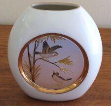 Art of Chokin, Vase with Songbirds