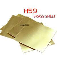 New Brass Metal Thin Sheet Foil Plate Shim Thick 0.5mm 100X100mm 1pcs