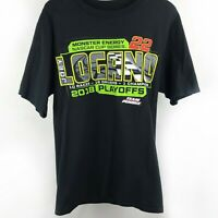 Nascar Men T Shirt Short Sleeve 2018 Cup Series No 22 Joey Logano Size S