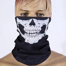 Fashion Neck Mask Scarf Skull Half Face Skeleton Bandana Biker Paintball