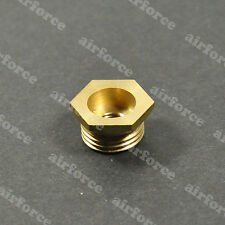 ECEXL 14mm to 1/4-32mm spark plug bushing adapters(Copper) Gas engine RC Plane