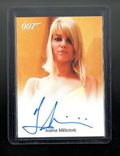 James Bond in Motion Ivana Milicevic autographed card