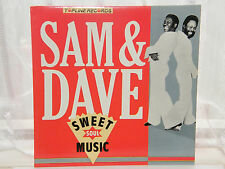 "Sam & Dave - Sweet Soul Music 12"" Lp 1987"