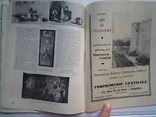 1938 MUSEE HISTORIQUE DES TISSUS MUSEE DES ARTS DECORATIFS LYON H D'HENNEZEL