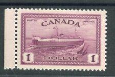 Canada KGVI 1946-47 Peace re-conversion $1 purple SG406 MNH