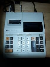 Texas Instruments TI-5130 Electronic Calculator printer needs ink