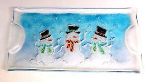 Snowman Tray Mold #GM167 - Glass Fusing