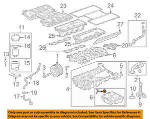 JAGUAR OEM 10-18 XJ 5.0L-V8-Engine Oil Drain Plug AJ88461