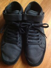 Boxfresh Swich Waxed Mens Canvas Trainers Hi Top Size 8
