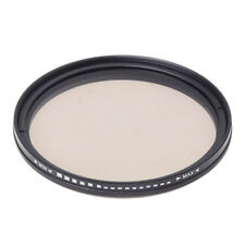 Adjustable Fader ND Filter ND2 to ND400 for 67mm Neutral I1W5