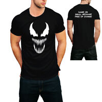 Mens Venom Gym Printed T-Shirt  Cool Workout MMA Bodybuilding Tee Top Gift MU