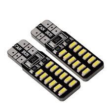 2x T10 LED194 W5W 3014SWM 24LED Canbus Error Free Car Wedge Width Side Lights