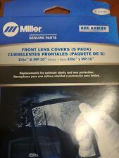 Miller 216326 Genuine Parts Front Lens Cover For Elite Amp Mp 10 Series 5 Pack