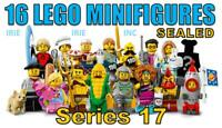 SERIES 17 Lego Minifigures FULL SET - SEALED ( complete new gift toy corn fun )
