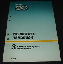 Werkstatthandbuch Elektrik Saab 90 Elektrisches System / Instrumente ab 1985!