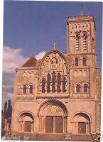 89 - cpsm - VEZELAY - La Basilique Sainte Madeleine - La façade (H6093)