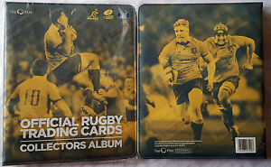 Qantas Wallabies~ 2016 Tap N Play rugby union trading cards complete set + album