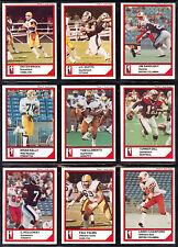 1984 JOGO CFL FOOTBALL SET 1-110 NM J.C. WATTS MERVYN FERNANDEZ TOM CLEMENTS RC