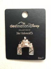 Destination Disney Her Universe The Little Mermaid Ariel Crown Ring Size 7
