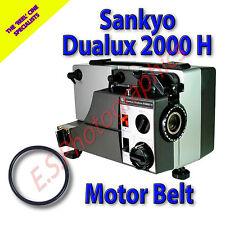 SANKYO DUALUX 2000 H 8mm CINE PROIETTORE Belt (motore principale Cintura)