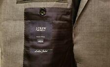 J Crew Ludlow Grey Wool 2 Btn Sportcoat Blazer Jacket 42R