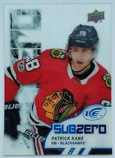 2017-18 Upper Deck Ice Patrick Kane Sub Zero Card