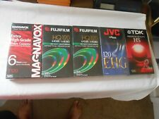 Lot of 5 misc VHS tapes Sealed  free shipping
