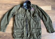 BARBOUR INTERNATIONAL STEVE MCQUEEN Ltd Edition Giacca da Moto Bici Taglia S