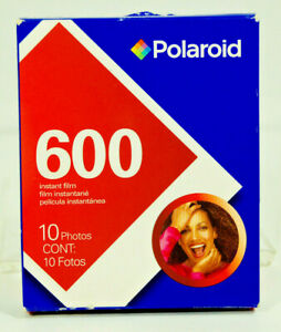 NEW Polaroid 600 Film pack 10 exposures Color Expired 2008