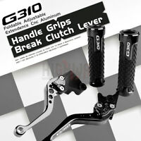 for BMW G310R G310GS G310 R/GS 17-19 Short Brake Clutch Levers New Handle Grips