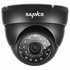 SANNCE In/Outdoor 900TVL IR Night Vision Metal Dome CCTV Home Security Camera